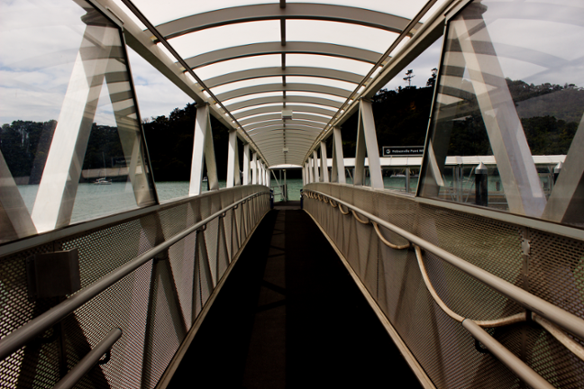 Ferry Walkway Bridge