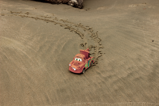 Mater at the Beach