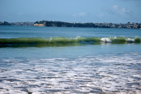 Orewa Beach Dancing Waves